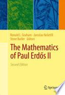 The Mathematics of Paul Erd  s II