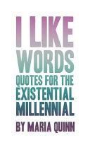 I Like Words
