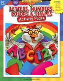 download ebook letters, numbers, colors & shapes activity pages pdf epub