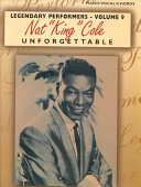 Nat  King  Cole Unforgettable Book PDF