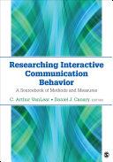 Researching Interactive Communication Behavior