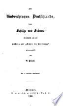 Die Rindviehracen Deutschlands, deren Schläge und Stämme