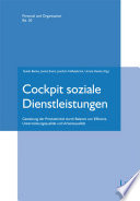 Cockpit soziale Dienstleistungen