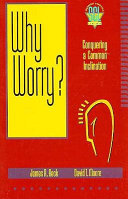 Why Worry  book
