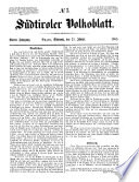 Südtiroler Volksblatt
