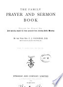 The Family Prayer And Sermon Book
