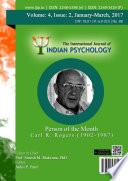 The International Journal of Indian Psychology, Volume 4, Issue 2, No. 88 Pdf/ePub eBook