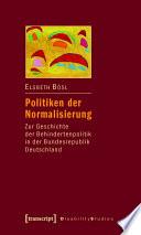 Politiken der Normalisierung