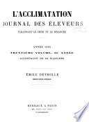 L Acclimatation  Journal des   leveurs