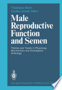 Male Reproductive Function and Semen