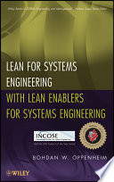 lean for systems engineering with lean enablers for systems engineering