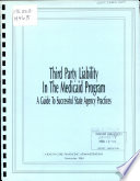 Third Party Liability In The Medicaid Program