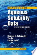 Handbook of Aqueous Solubility Data  Second Edition