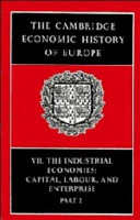 The Cambridge Economic History of Europe  Trade and industry in the Middle Ages