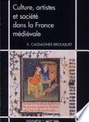 Culture  artistes et soci  t   dans la France m  di  vale