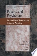 Poverty and Psychology