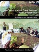 Non Governmental Organizations and Development