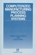 Computerized Manufacturing Process Planning Systems
