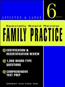 Specialty Board Review  Family Practice