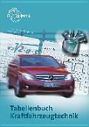 Tabellenbuch Kraftfahrzeugtechnik