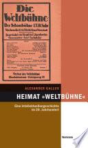 """Heimat """"Weltbühne"""""""