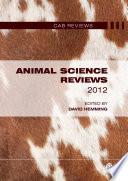 Animal Science Reviews 2012