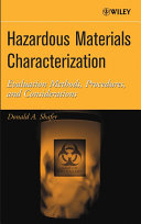 Hazardous Materials Characterization