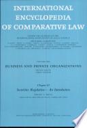 International Encyclopedia of Comparative Law  Instalment 13