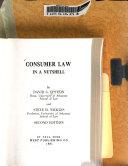 Consumer law in a nutshell