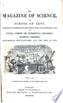 The Magazine of Science  and Schools of Art