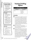 Academic Vocabulary Level 6  Technical Writing