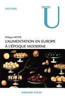 L alimentation en Europe    l   poque moderne