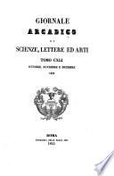 Giornale arcadico di scienze, lettere ed arti