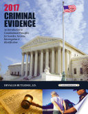2017 Criminal Evidence  Introduction to Constitutional Principles for Searches  Seizures  Interrogation   Identification