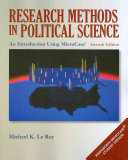 Research Methods in Political Science: An Introduction