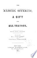 The Masonic Offering  a Gift for All Seasons
