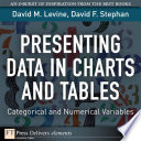 Presenting Data in Charts and Tables