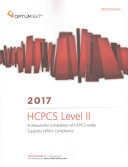 HCPCS LEVEL II PROFESSION 2017