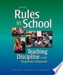 Rules in School