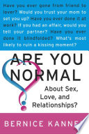 Are You Normal About Sex  Love  and Relationships