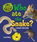 Who Ate the Snake? a Desert Food Chain