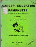 Career Education Pamphlets