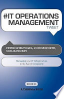 IT OPERATIONS MANAGEMENT Tweet Book01