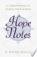 Hope Notes : a quote, a graphic symbol of hope,...