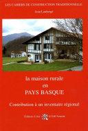 Book La maison rurale en Pays Basque
