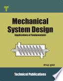 Mechanical System Design Book PDF