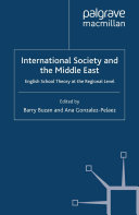 International Society and the Middle East