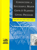 Conducting a Successful Major Gifts and Planned Giving Program