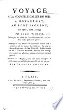 Voyage    la Nouvelle Galles du Sud      Traduit de l Anglais avec des Notes      par C  Pougens