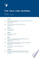 Yale Law Journal Volume 123 Number 7 May 2014
